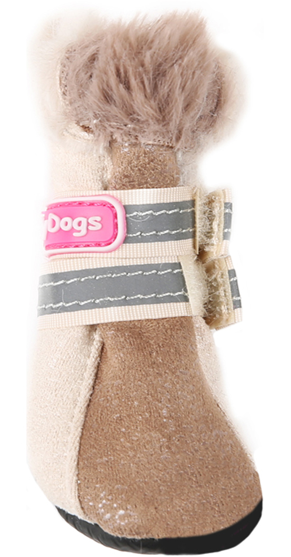 цена For My Dogs сапоги для собак зимние бежевые Fmd629-2018 Bg (2) онлайн в 2017 году