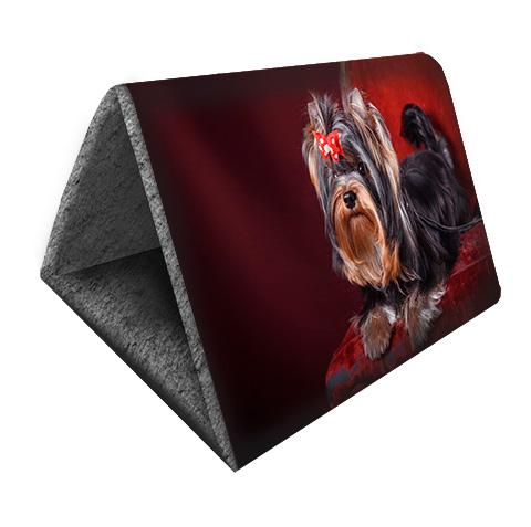 Дом для животных PerseiLine Дизайн Шалаш + лежак 2 в 1 Йорк 46 х 36 х 36 см (1 шт) дом для животных perseiline дизайн бамбук 33 х 33 х 40 см 1 шт