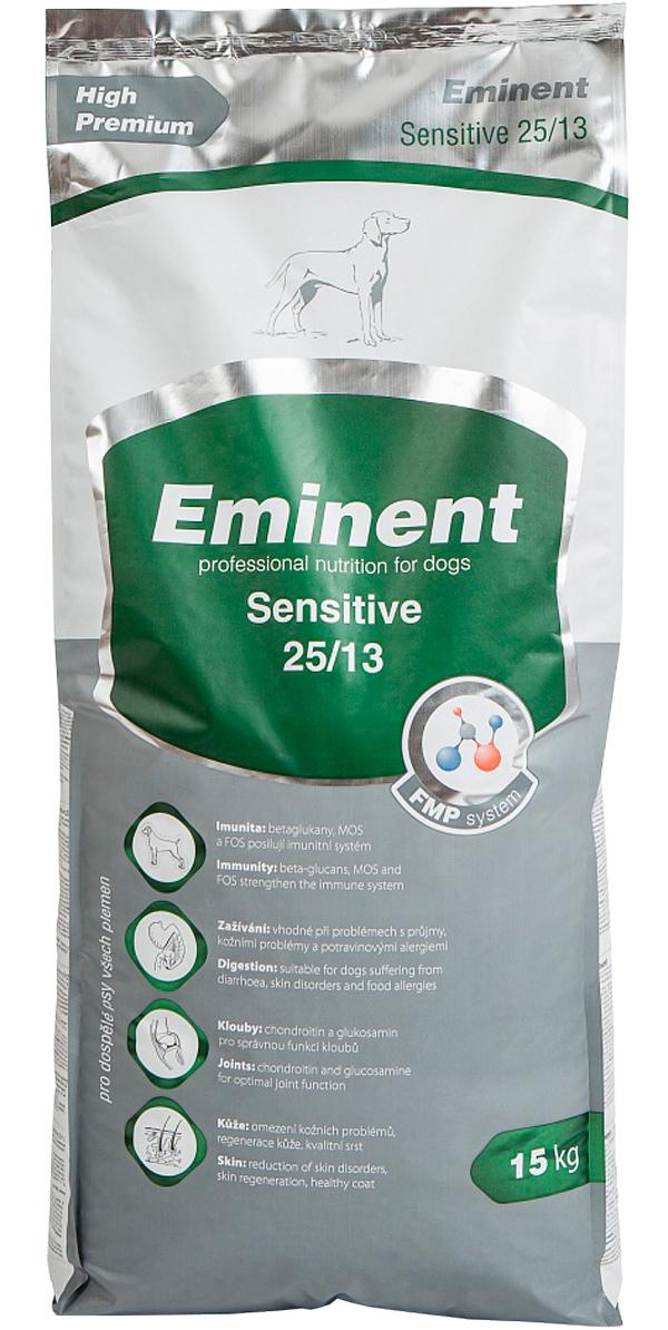 Eminent Sensitive 25/13 для взрослых собак всех пород при аллергии (15 кг)