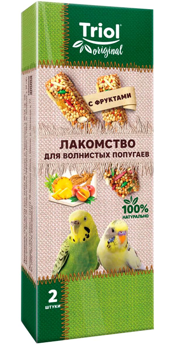 Triol Original лакомство для волнистых попугаев с фруктами (2 шт)