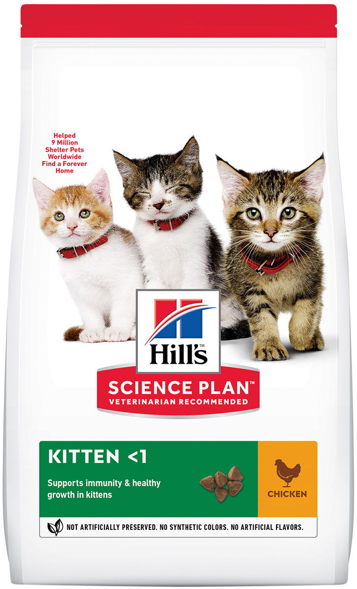 Hill's Science Plan Feline Kitten Chicken для котят с курицей (2 кг)