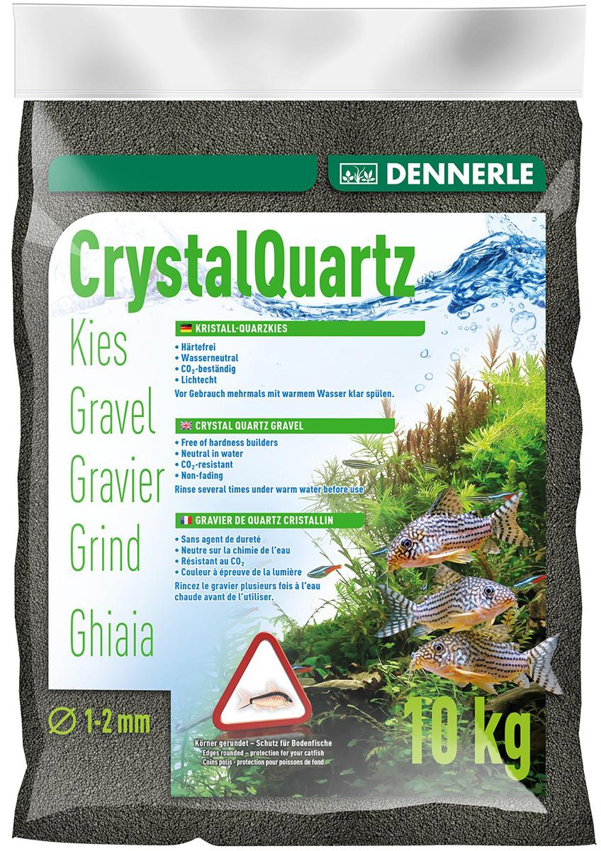 Грунт для аквариума Crystal Quartz Gravel черный