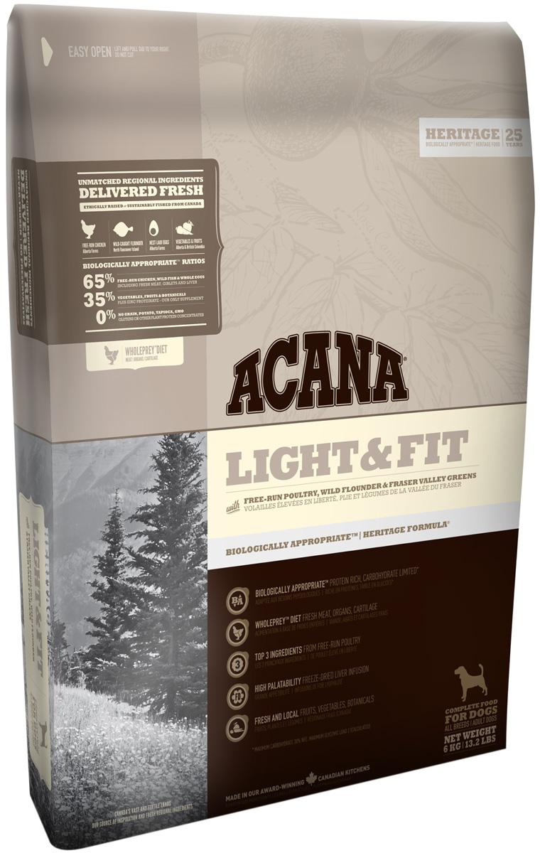 Acana Adult Light & Fit диетический для взрослых собак всех пород (2 кг)