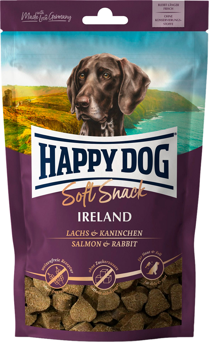 Лакомство Happy Dog Softsnack Irland для взрослых собак всех пород с лососем (100 гр)