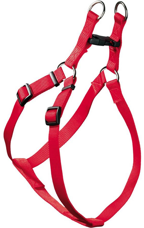 Шлейка для собак Hunter Smart Ecco Quick S нейлон красная 15 мм 33 – 45/35 49 см (1 шт)