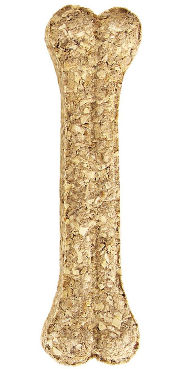 Лакомство Triol для собак кость прессованная натуральная 10 см 10 шт (1 шт)