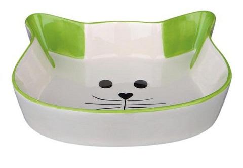 Trixie миска керамическая для кошек «cat Face» (0,25 л)