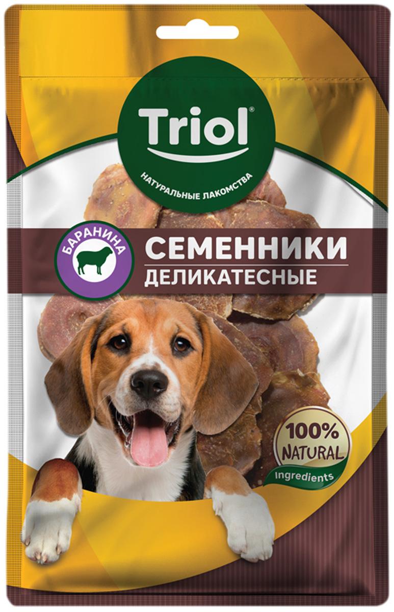 Лакомство Triol для собак семенники бараньи деликатесные 50 гр (1 шт)