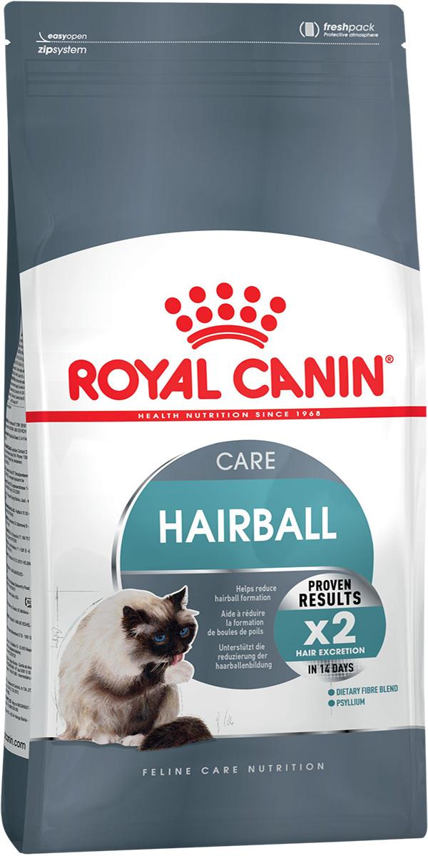 Royal Canin Hairball Care для взрослых кошек для вывода шерсти (0,4 кг)
