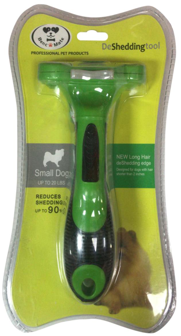 Расческа-триммер PerseiLine для длинношерстных собак с очистителем S 4,5 см (1 шт)