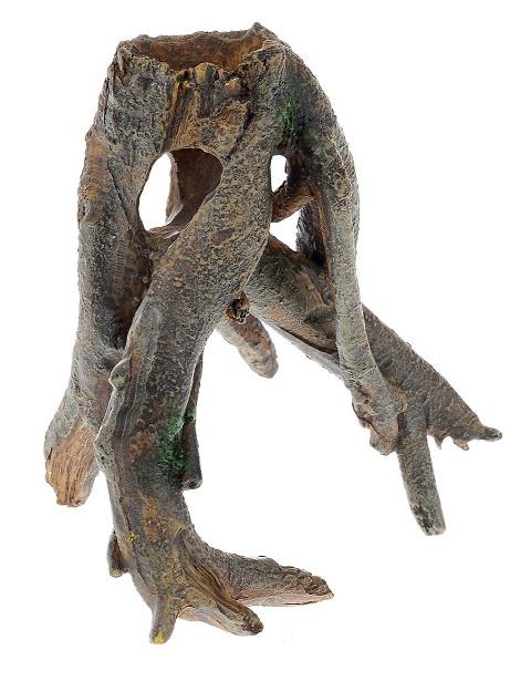 Декор грот для аквариума Коряга, 12 х 8,5 х 12 см, Barbus, Decor 024 (1 шт)