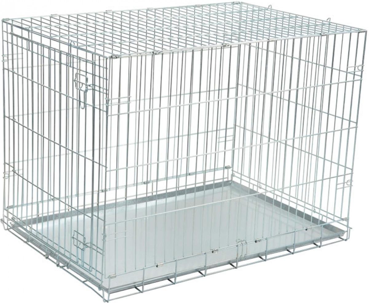 Клетка для животных Triol 005sc хром 107 х 70 х 79,5 см (1 шт) переноска для животных triol premium large 80 1 х 56 2 х 59 см 1 шт