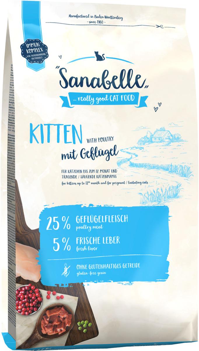 Bosch Sanabelle Kitten для котят, беременных и кормящих кошек (10 кг)