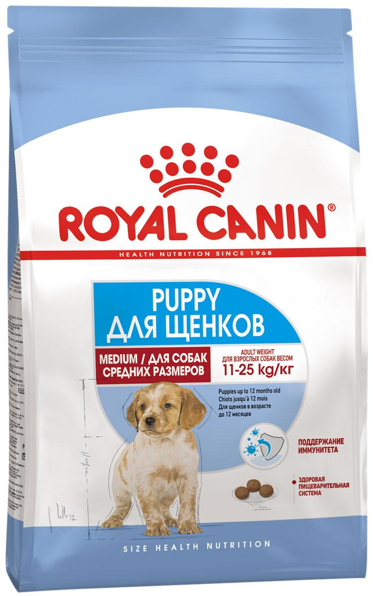 Royal Canin Medium Puppy для щенков средних пород (3 кг)