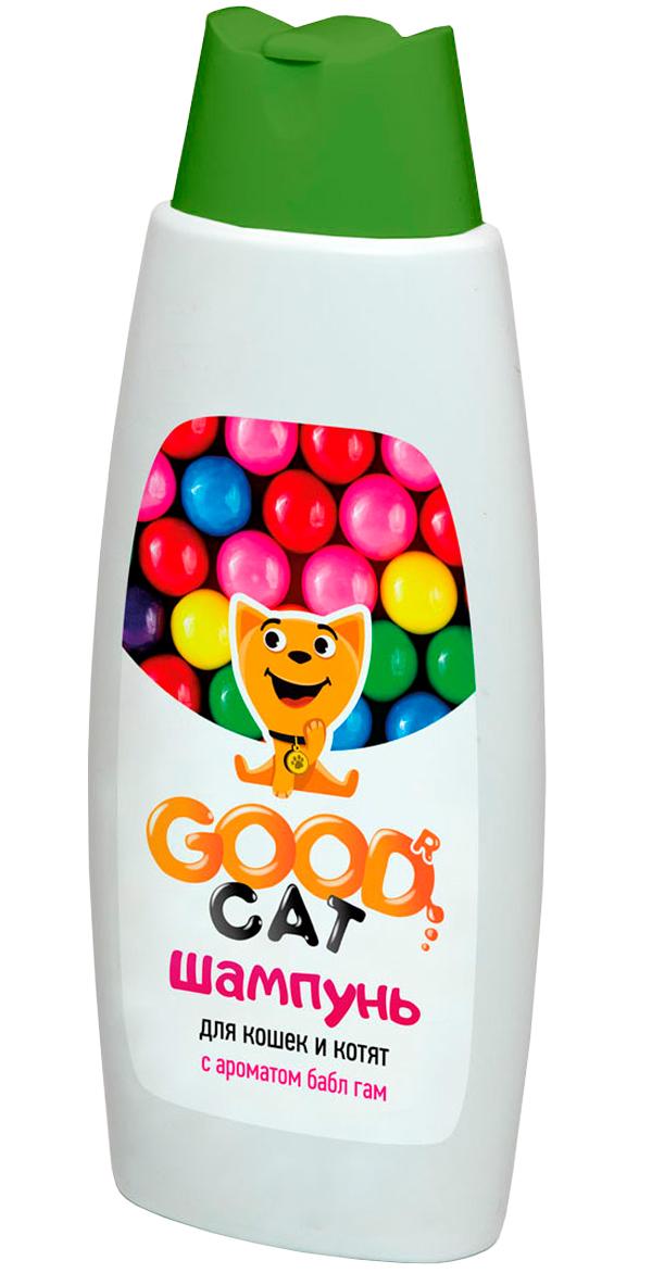 Good Cat шампунь для кошек и котят с ароматом бабл гам (250 мл) сироп wts бабл гам 1 л