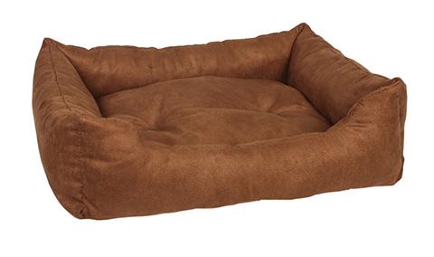 Pride лежак прямоугольный Ранчо замша коричневый 70 х 60 см (1 шт).