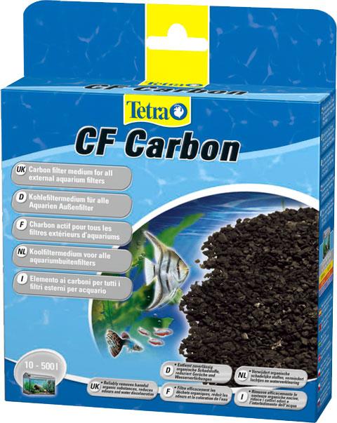Наполнитель для фильтра Tetra Cf Carbon 400/600/700/800/1200/2400 – активированный уголь очистки воды уп. 2 шт (1 шт)