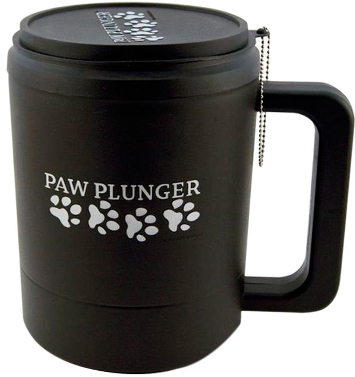 Лапомойка большая черная Paw Plunger (1 шт)