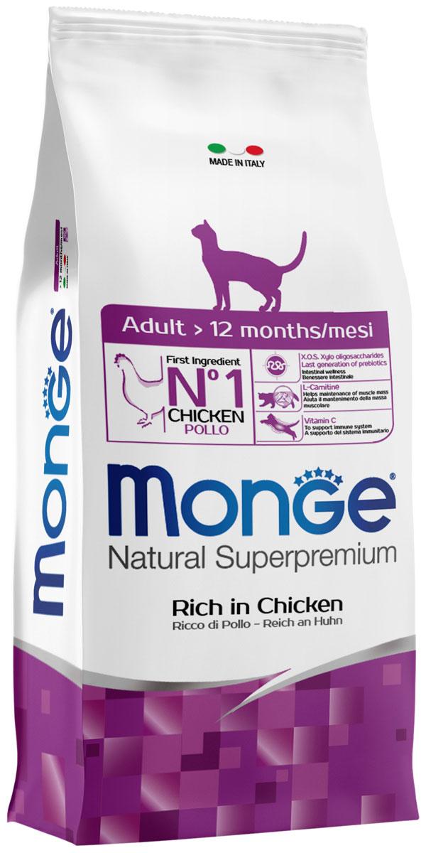 Monge Cat Adult Chicken для взрослых кошек с курицей (1,5 кг)