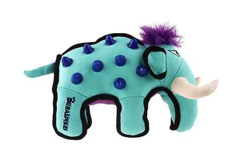 Игрушка для собак Дюраспайк-Мамонт особо прочный с резиновыми вставками 24 см GiGwi Duraspikes (1 шт)