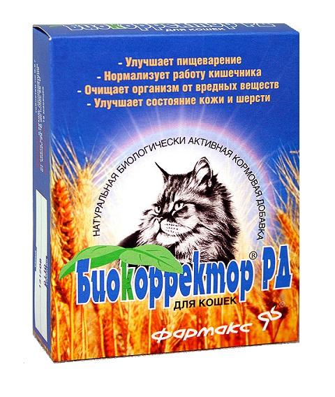 биокорректор рд кормовая добавка для кошек