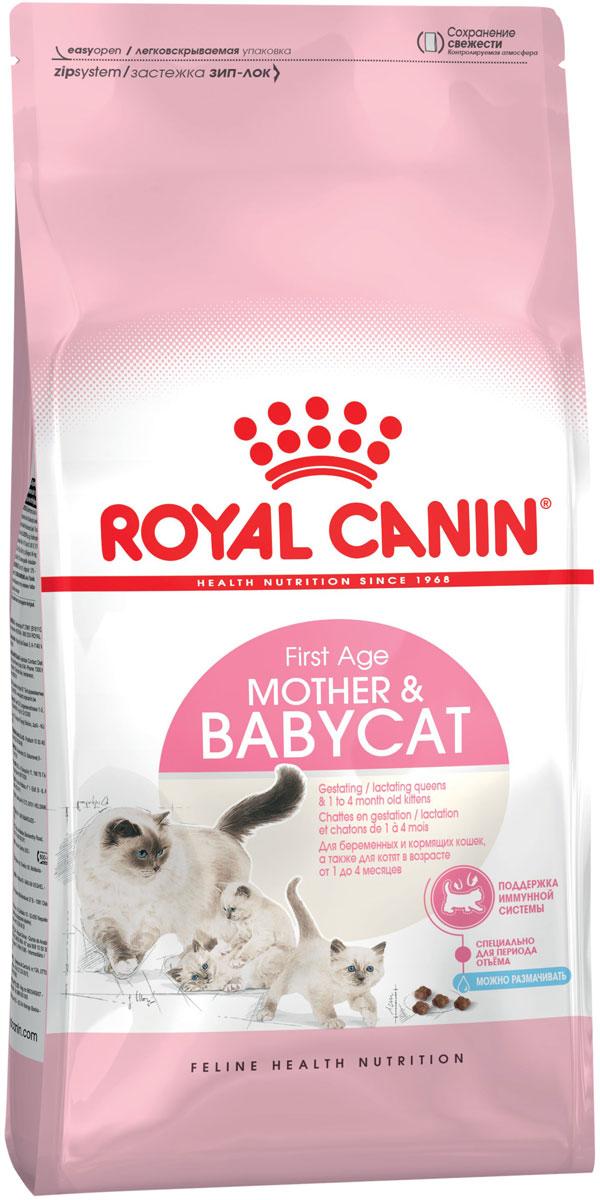 Royal Canin Mother & Babycat 34 для котят до 4 месяцев, беременных и кормящих кошек (0,4 кг + 0,4 кг) фото