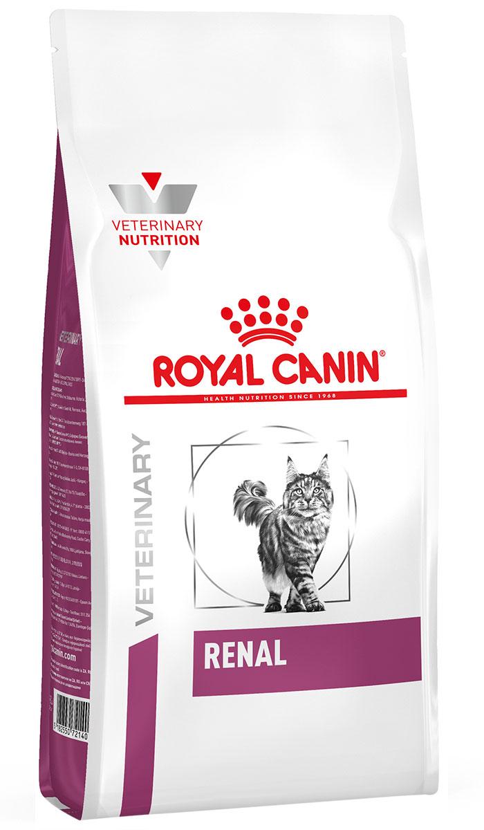 Royal Canin Renal Rf23 для взрослых кошек при хронической почечной недостаточности (4 кг) корм для кошек royal canin vet diet renal rf23 при почечной недостаточности сух 400г