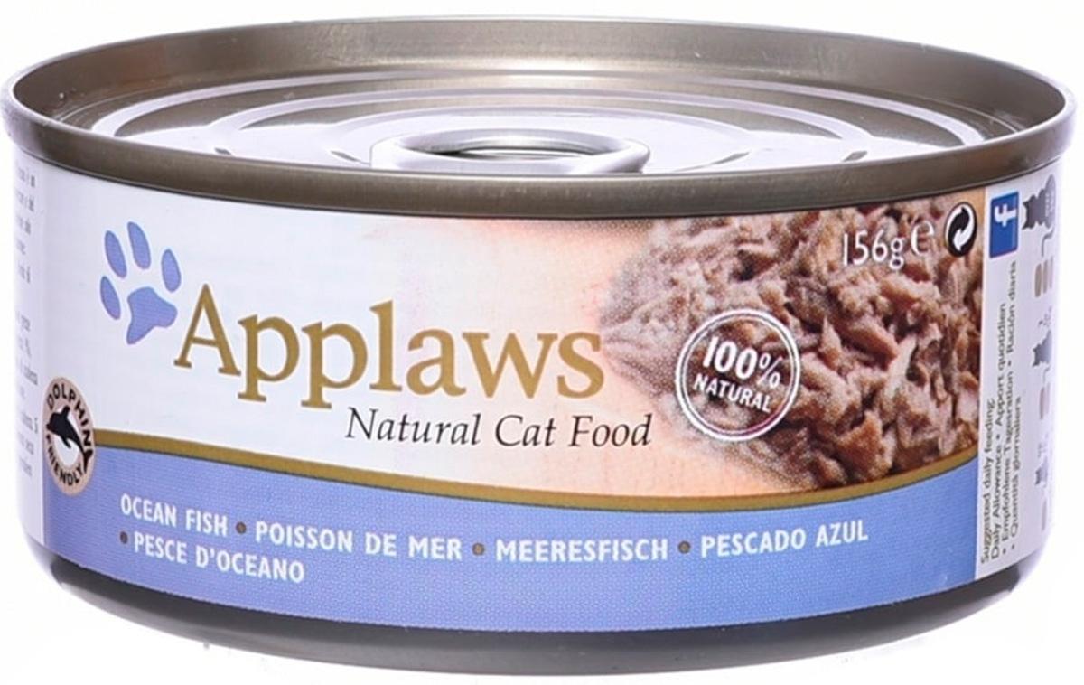 Applaws для взрослых кошек с океанической рыбой (156 гр)