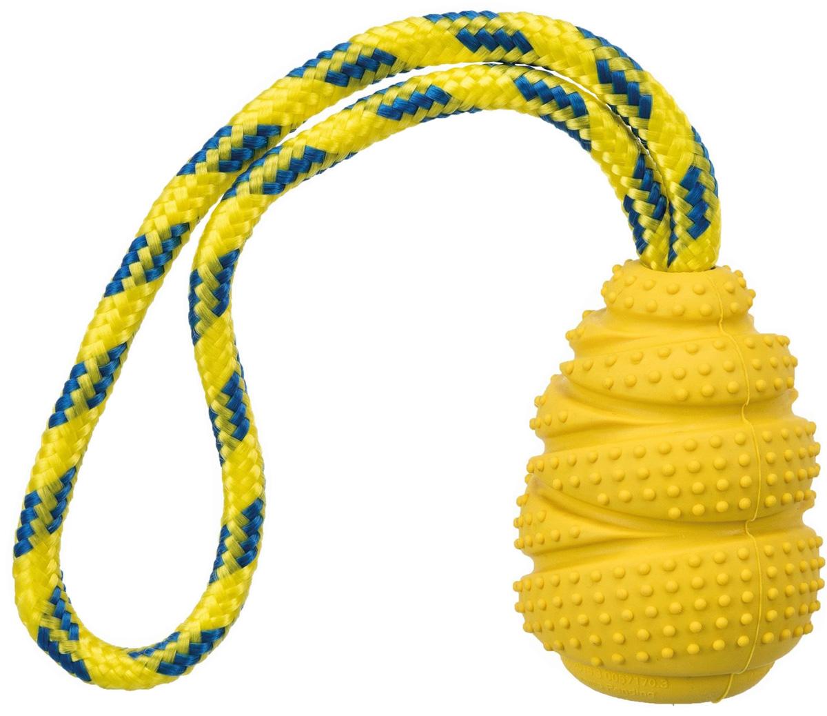 Игрушка для собак Trixie Sporting Прыгун на верёвке резина 9 см 30 см (1 шт)