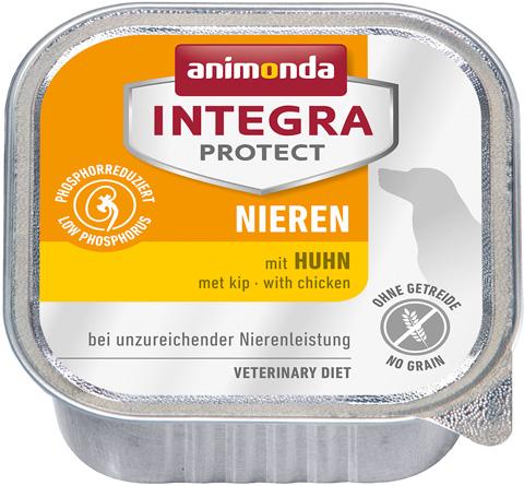 Animonda Integra Protect Dog Nieren Renal для взрослых собак при хронической почечной недостаточности с курицей 150 гр (150 гр) фото