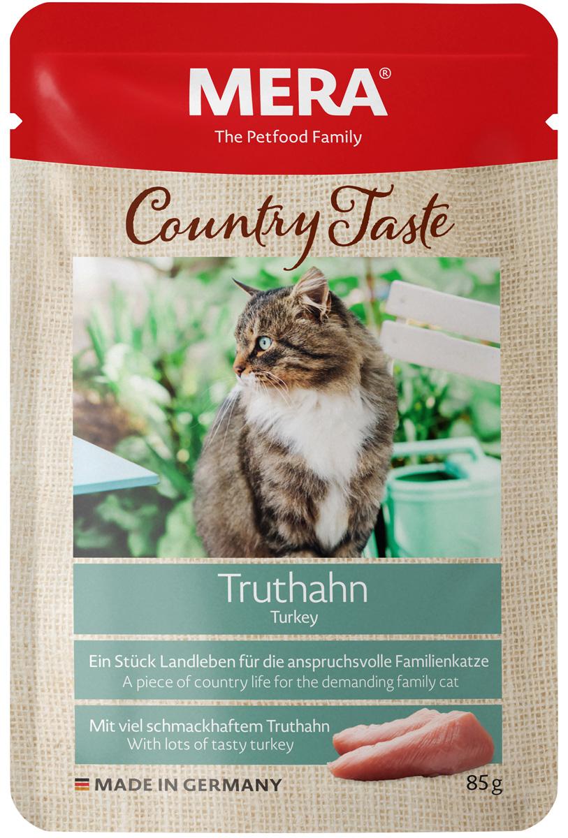 Mera Country Taste Cat Truthahn беззерновые для взрослых кошек с индейкой 85 гр (85 гр)