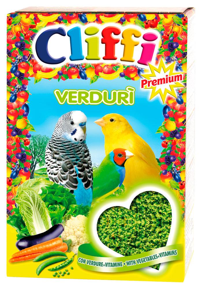Cliffi Verduri корм для зерноядных птиц с яйцом и овощами (300 гр) фото