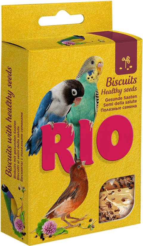 цена на Rio бисквиты для птиц с полезными семенами (35 гр)