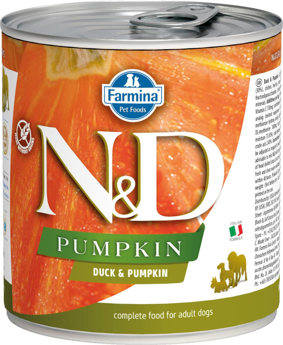 Farmina Dog N&d Adult Duck & Pumpkin беззерновые для взрослых собак всех пород с уткой и тыквой 285 гр (285 гр)