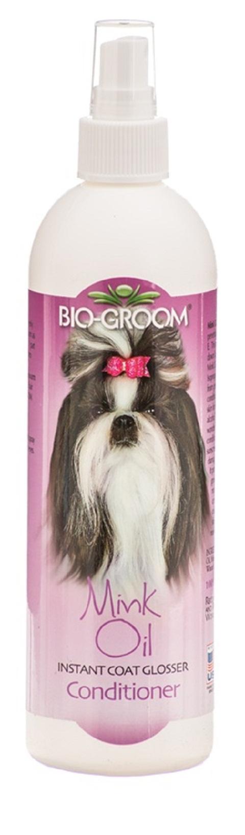 Bio-groom Mink Oil – Био-грум норковое масло для собак (355 мл)