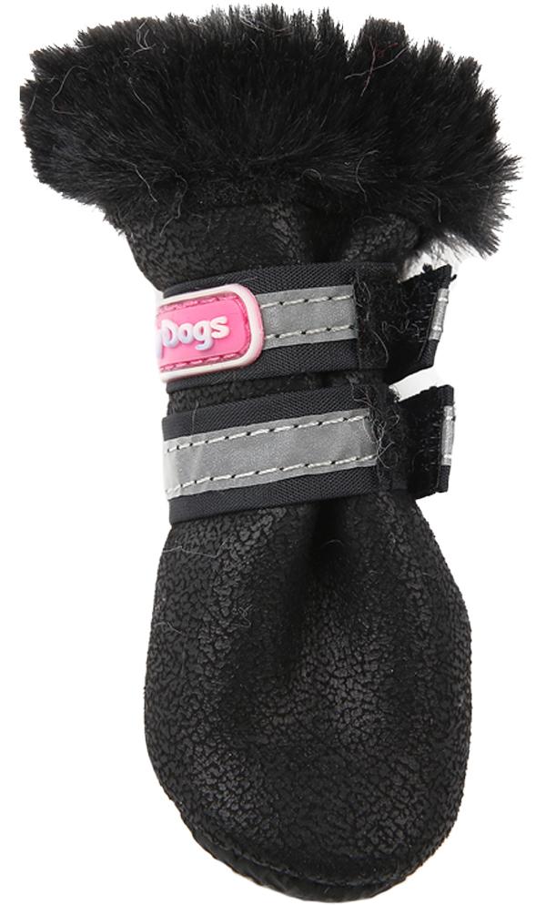 For My Dogs сапоги для собак зимние черные Fmd647-2019 Bl (1)