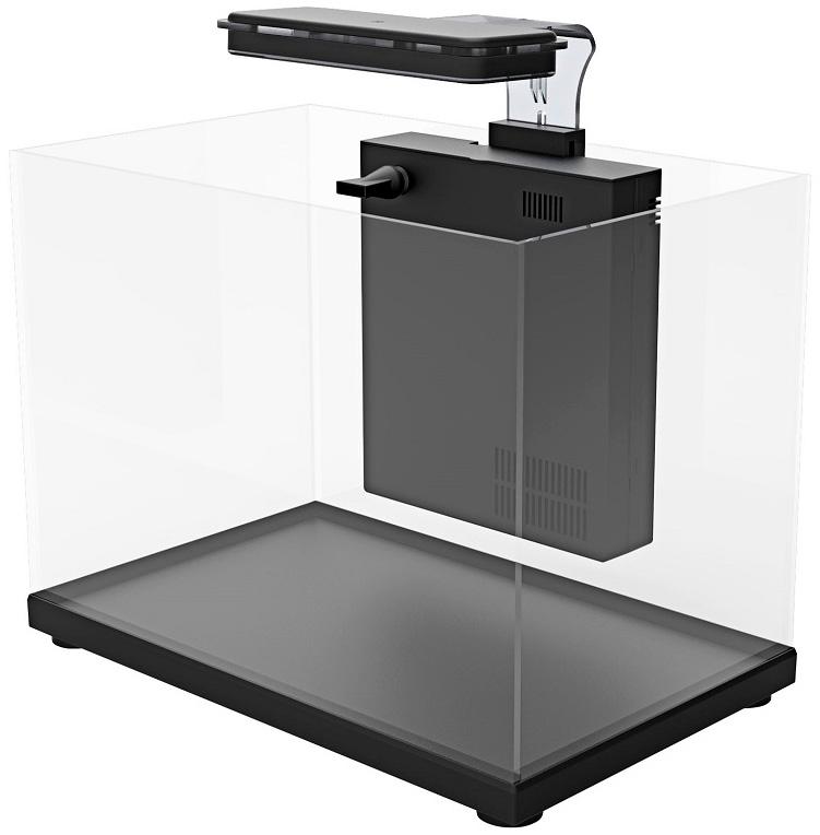 Аквариум Atman Zgt-40 черный 30 литров (1 шт) фото
