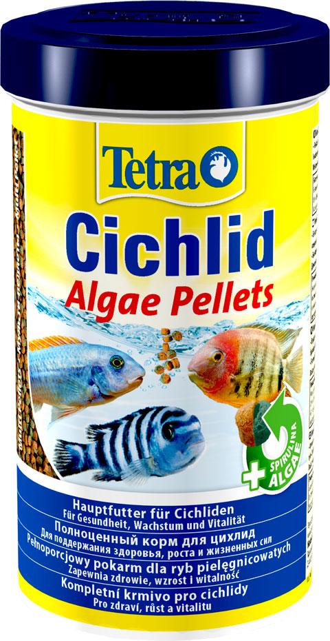 Tetra Cichlid Algae Pellets корм шарики