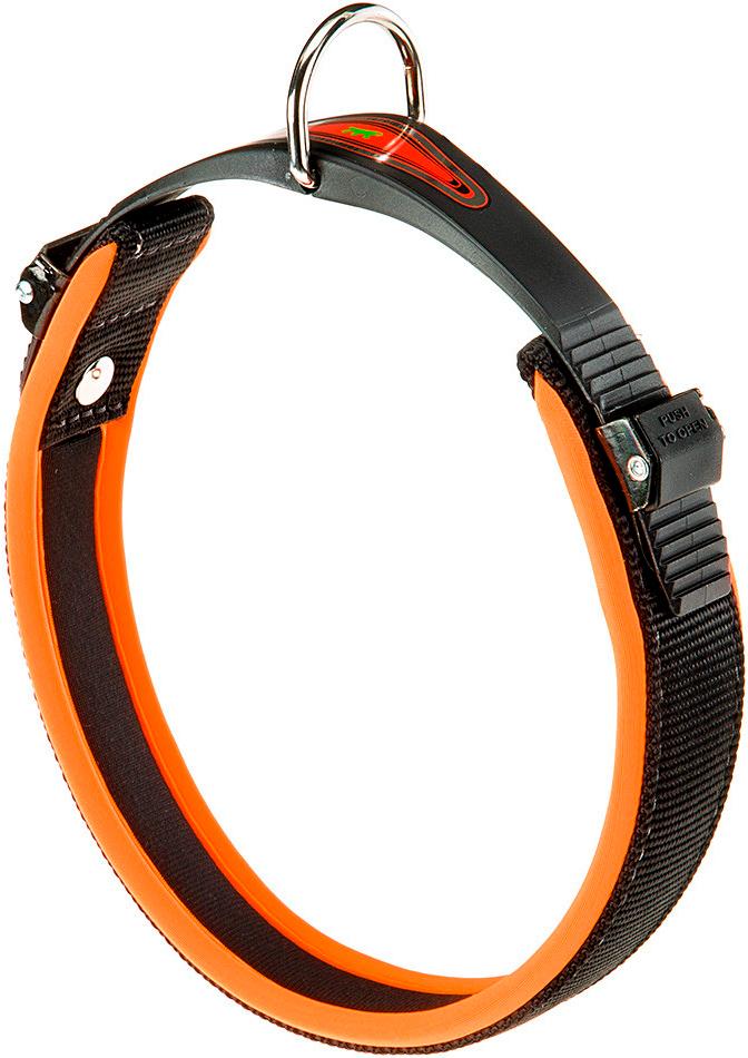 Ошейник для собак Ferplast Ergofluo C25/51 оранжевый (1 шт)
