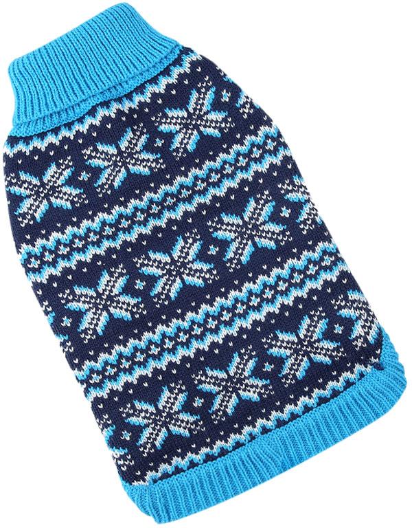 For My Dogs свитер для собак синий Fw831-2019 (14-16)