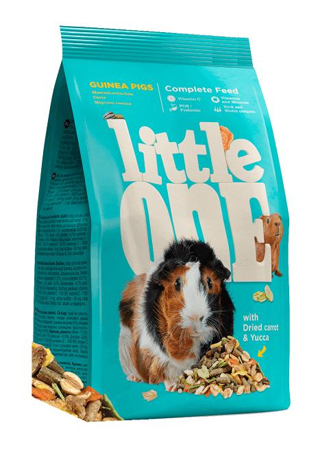 Little One Guinea Pigs корм для морских свинок (400 гр) корм для морских свинок vitakraft emotion sensitive selection 600 г