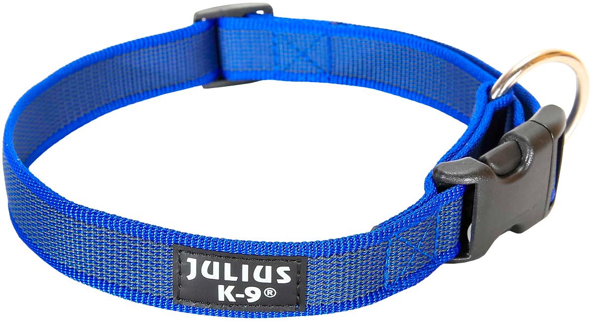 Ошейник для собак Julius-K9 Color & Gray сине-серый 25 мм 39 – 65 см (1 шт)
