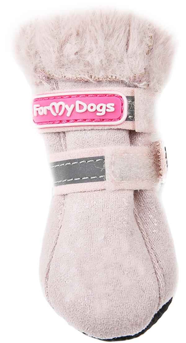 For My Dogs сапоги для собак зимние розовые Fmd641-2019 L.p (4)