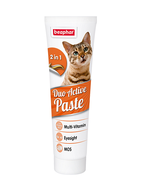 Beaphar Duo Active Pasta – Беафар витаминная паста для кошек двойного действия (100 гр) фото