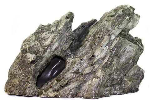 Грот для аквариума Камень № 401 пластиковый, 21 х 8 х 13 см, Deksi (1 шт) грот для аквариума penn plax осьминог хэнк на песке 5 х 8 х 6 5 см