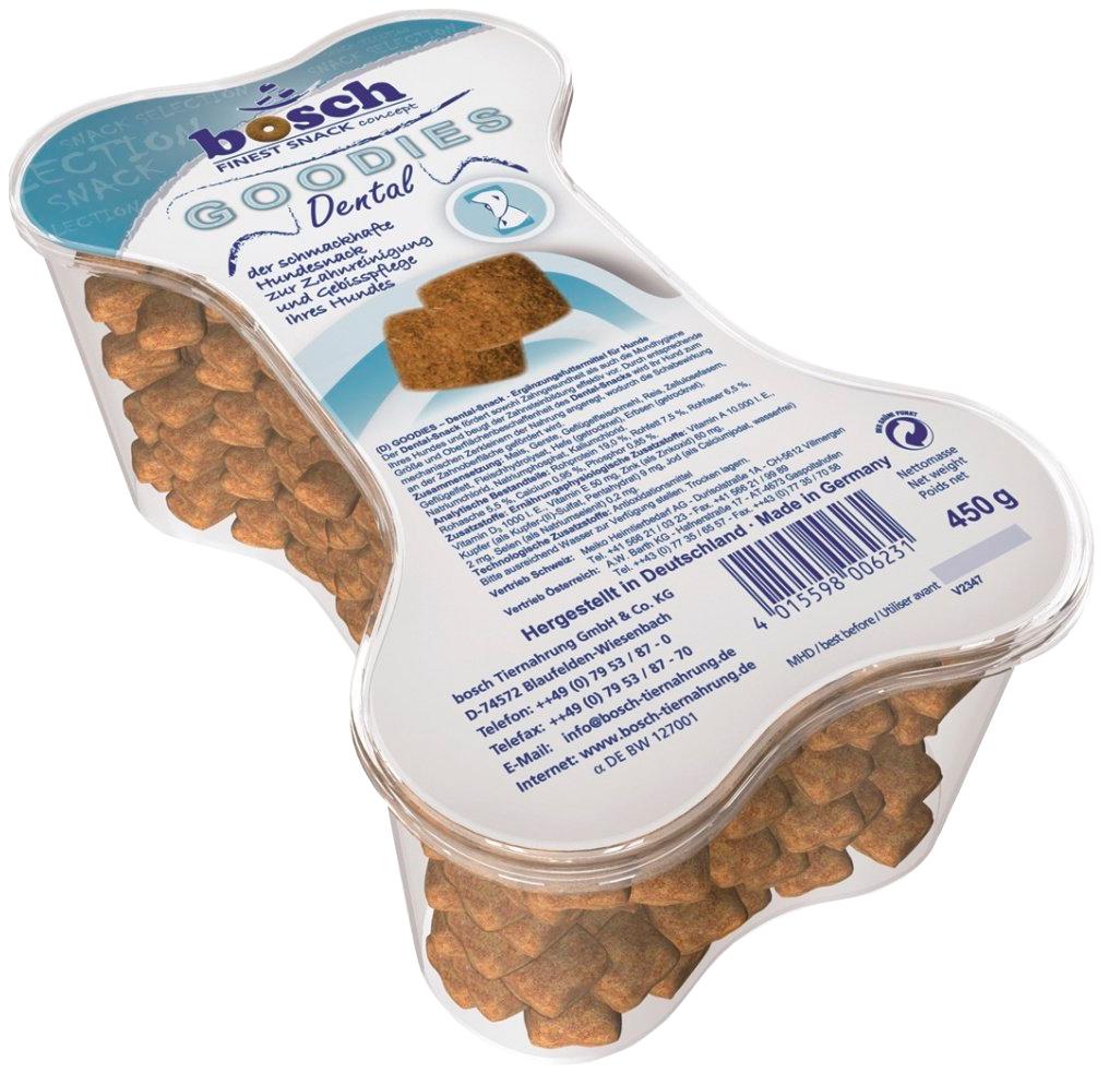 Лакомство Bosch Goodies Dental для собак печенье для зубов (0,45 кг)