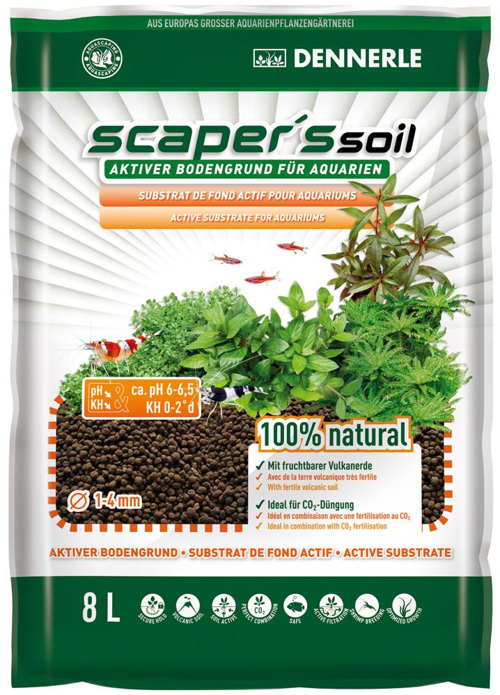Грунт питательный для аквариума Dennerle Scaper's Soil