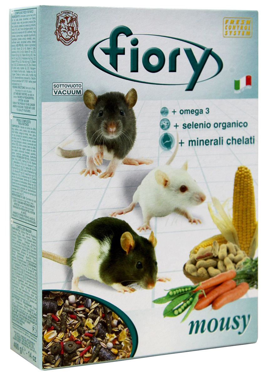 Fiory Mousy — Фиори корм для мышей (400 гр) fiory fiory корм для крольчат micropills baby rabbits