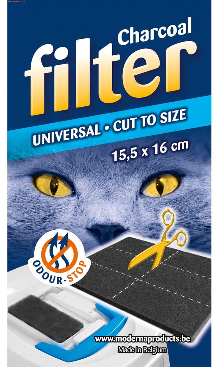 Moderna универсальный фильтр для закрытых туалетов 15,5 х 16 см (1 шт)