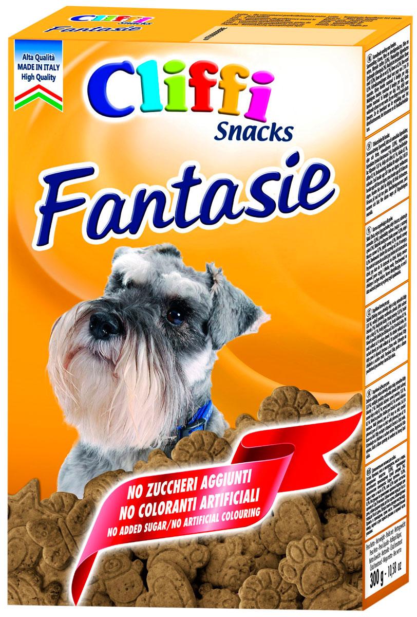 Лакомство Cliffi Fantasie для взрослых собак всех пород бисквиты мясные 300 гр (1 шт)